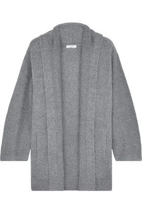 VINCE. Mélange brushed cotton-blend cardigan