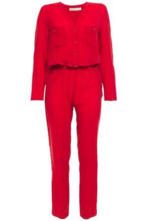 VANESSA BRUNO Button-detailed jacquard jumpsuit