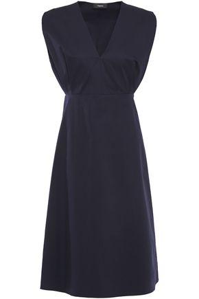 THEORY Cotton-twill dress
