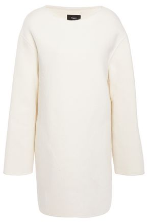 THEORY Brushed wool-blend felt top