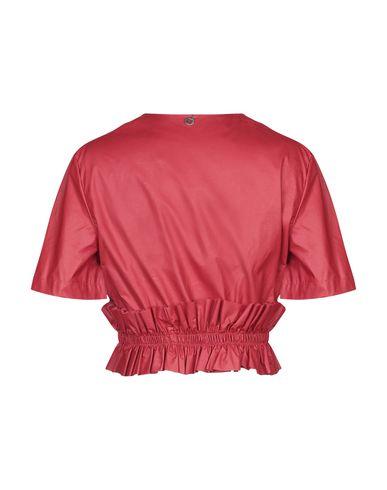 Фото 2 - Женский пиджак KORALLINE красного цвета