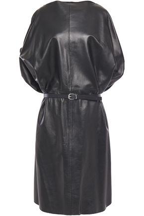 MM6 MAISON MARGIELA Belted leather dress