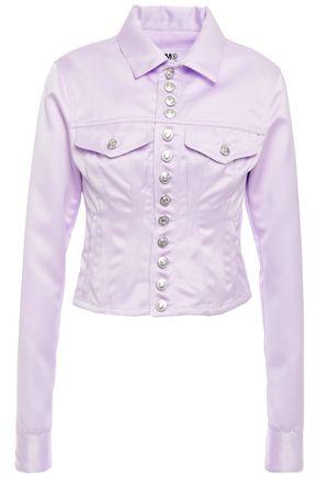 MM6 MAISON MARGIELA Button-detailed cady jacket