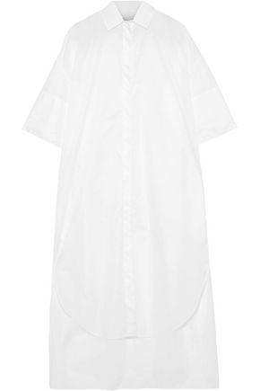 DEVEAUX Blanchard taffeta shirt dress