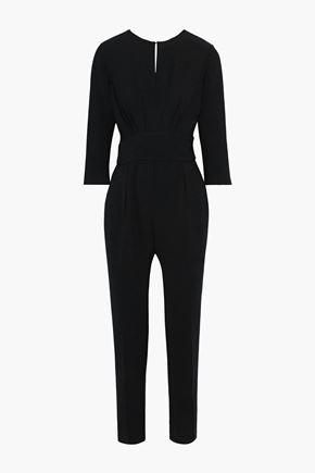 BA&SH Corfu open-back bead-embellished crepe jumpsuit