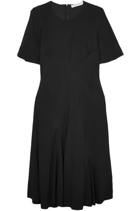 SEE BY CHLOÉ فستان من الكريب المزخرف بأزرار معدنية