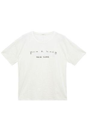 RAG & BONE プリント コットンジャージー Tシャツ