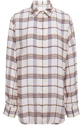 MAJE Checked woven shirt