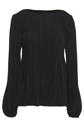 MAJE Lockin crepe blouse