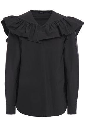 GOEN.J Ruffled poplin blouse