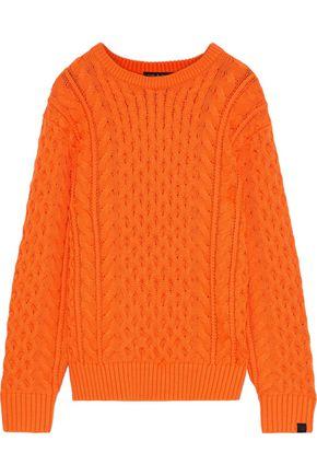 RAG & BONE Aran cable-knit merino wool-blend sweater