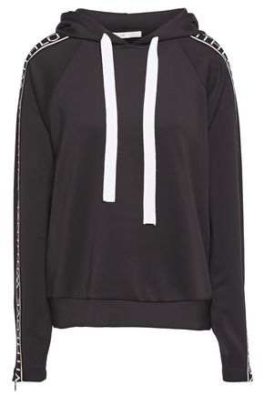 MAJE Stretch-jersey hoodie