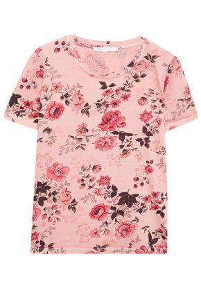 MAJE Tulum floral-print cotton-jersey T-shirt