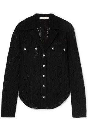 CHLOÉ Cotton-blend lace blouse