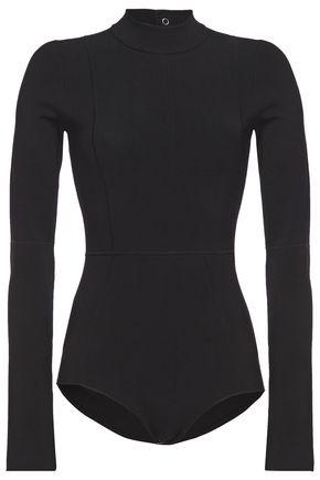 HELMUT LANG Cutout stretch-knit bodysuit
