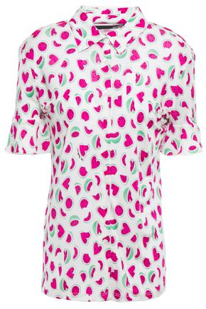 LOVE MOSCHINO Printed jersey shirt