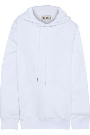FIORUCCI Printed cotton-fleece hoodie