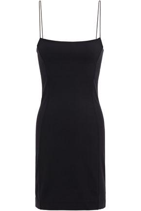 NINETY PERCENT فستان قصير منزلق من قماش بونتي