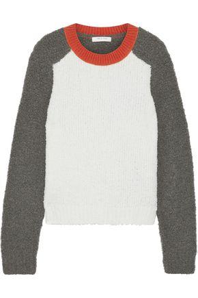 RAG & BONE Davis color-block bouclé-knit merino wool-blend sweater