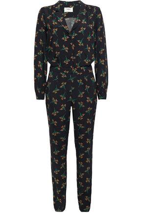 BA&SH Printed crepe jumpsuit