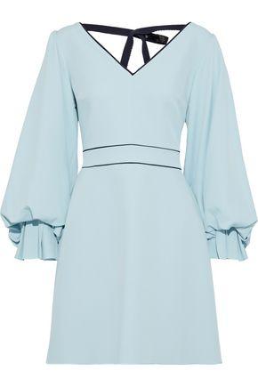 ROKSANDA Darie sequin-embellished crepe mini dress