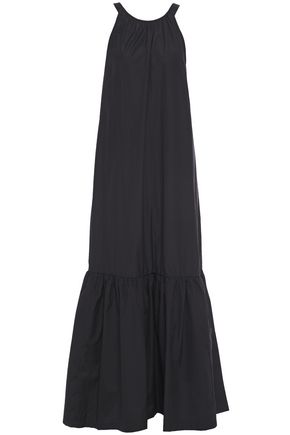 3.1 PHILLIP LIM Cutout gathered cotton-poplin maxi dress