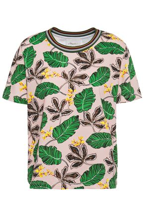 3.1 PHILLIP LIM Printed cotton-jersey T-shirt