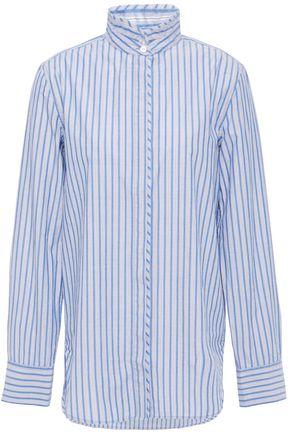 RAG & BONE Striped cotton and silk-blend shirt