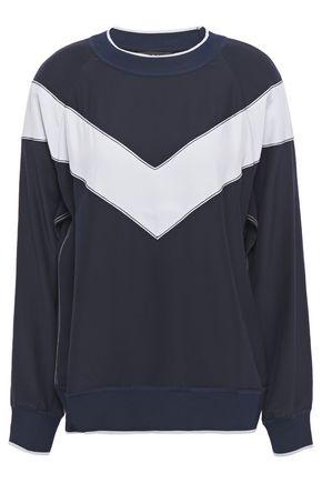 RAG & BONE Striped silk-cady blouse