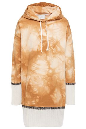 3.1 PHILLIP LIM Oversized tie-dyed French cotton-terry hoodie