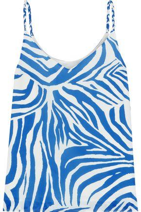 IRIS & INK Susan printed twill camisole