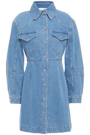 NANUSHKA Vilma denim mini shirt dress