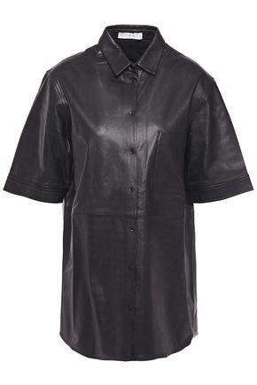 IRO Leather shirt