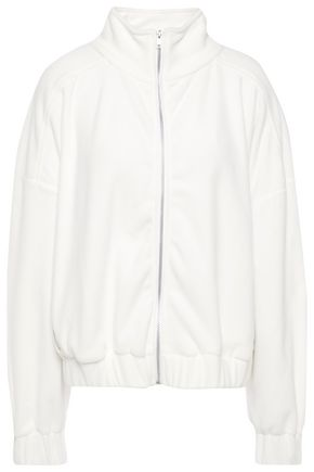 IRO Gathered fleece track jacket