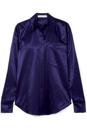 SEE BY CHLOÉ قميص من الساتان المصنوع من مزيج القطن