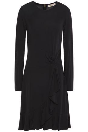 MICHAEL MICHAEL KORS Twist-front stretch-jersey dress