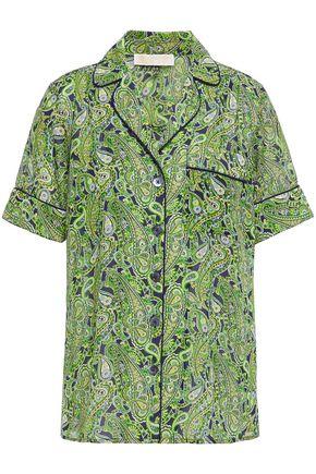 MICHAEL MICHAEL KORS Printed crepe shirt