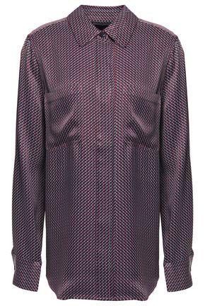 EQUIPMENT Printed satin-twill shirt