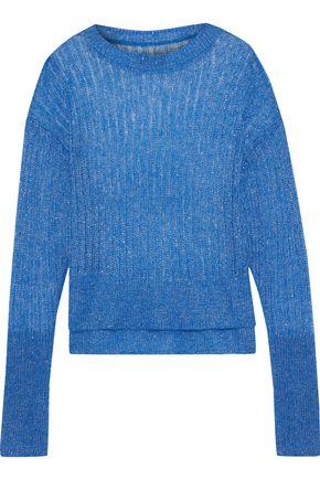 RTA Gilda metallic open-knit sweater