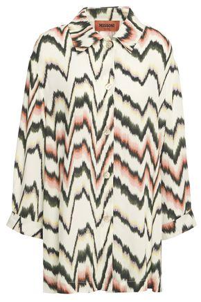 MISSONI Printed woven shirt