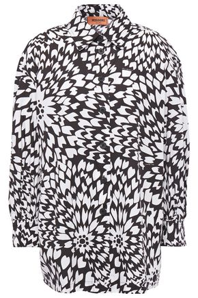 MISSONI Printed cotton-poplin shirt