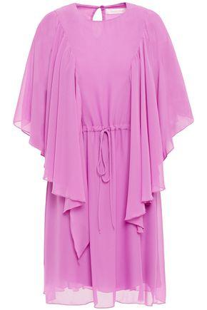 SEE BY CHLOÉ فستان قصير من الشيفون مع كشكش