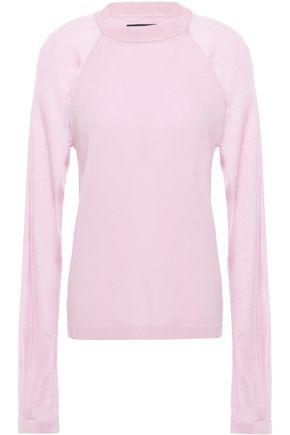RTA Paneled wool-blend sweater