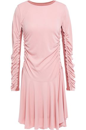 SEE BY CHLOÉ Ruched stretch-jersey mini dress