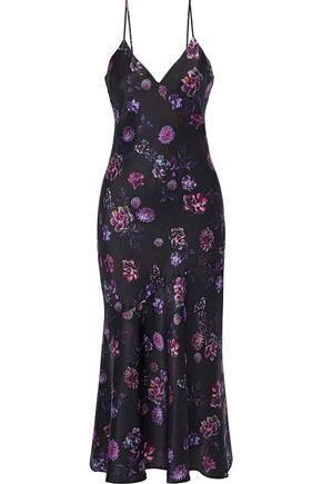 CAMI NYC The Colleen floral-print silk-charmeuse midi slip dress