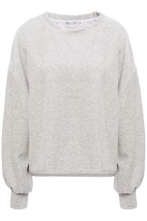 WILDFOX Mélange fleece sweatshirt