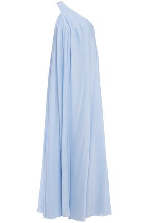 LANVIN One-shoulder cady gown