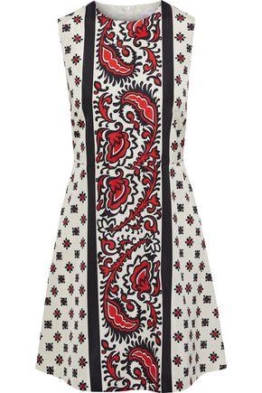 REDValentino Printed shell mini dress