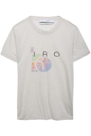"""IRO تيشيرت """"إنسبايرينغ"""" من الجيرسي المصنوع من مزيج القطن"""