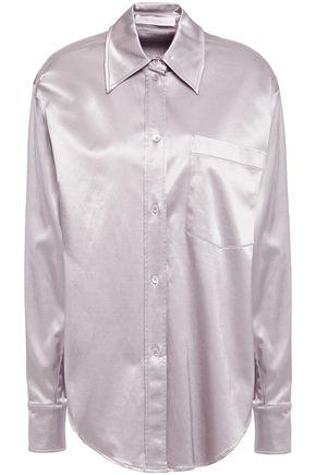 SEE BY CHLOÉ Cotton-blend satin shirt